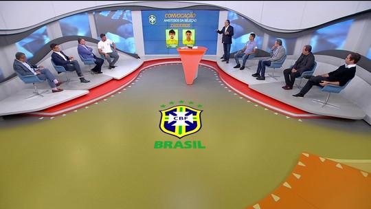 Galvão Bueno e cia comentam convocação de Tite para os amistosos da seleção brasileira