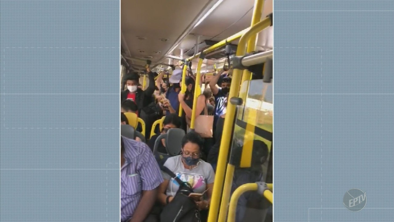 Passageiros de linha de Hortolândia reclamam de superlotação