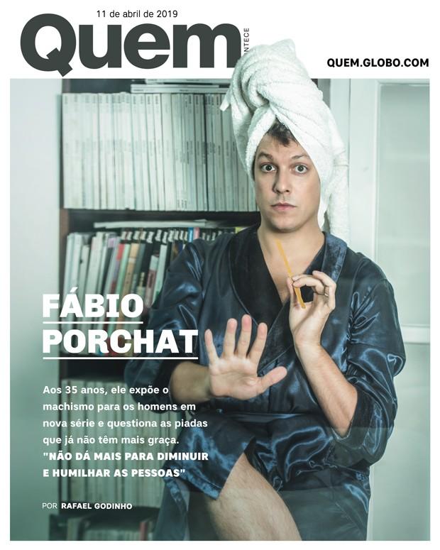 Fábio Porchat - Capa (Foto: .)