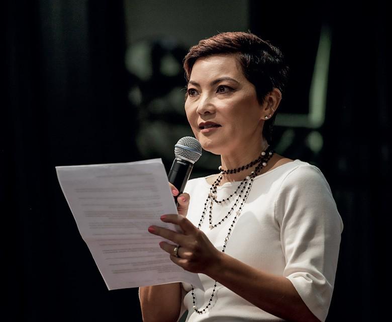 Ariane, uma das diretoras do colégio (Foto: Ricardo Benichio)