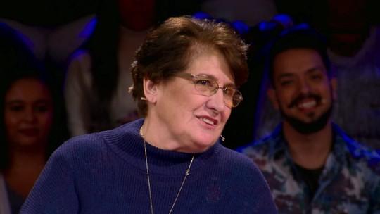 Dona Deolinda faz sucesso na web e repercute participação no 'Caldeirão': 'Me senti valorizada'