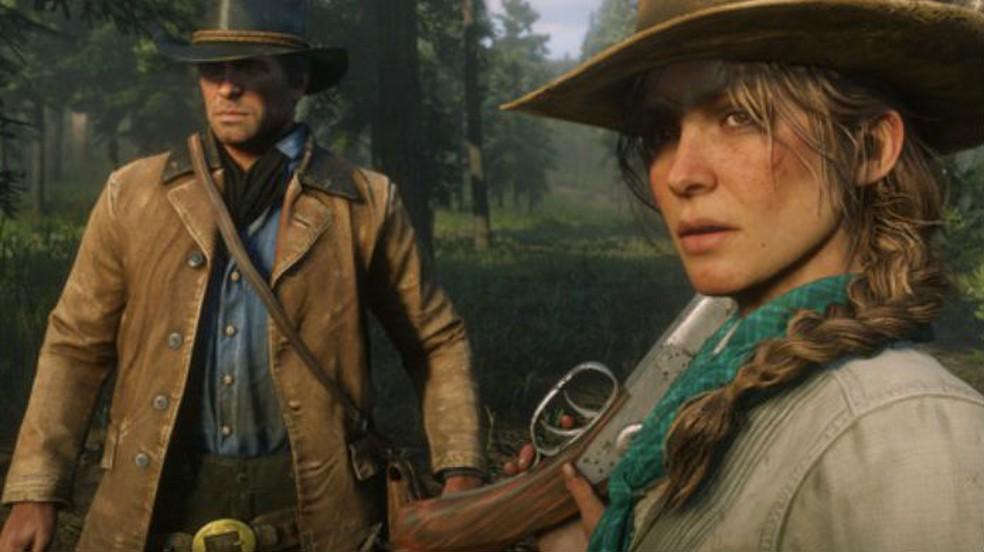 Red Dead Redemption 2 é um dos jogos em promoção nesta semana  — Foto: Divulgação/Rockstar