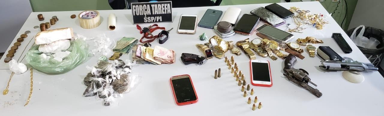 Operação prende oito suspeitos de assaltos a bancos em Campo Maior