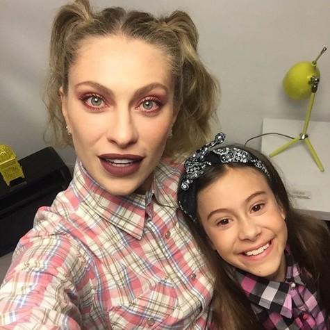 Lana Rhodes e a filha, Manuela (Foto: Reprodução / Instagram)