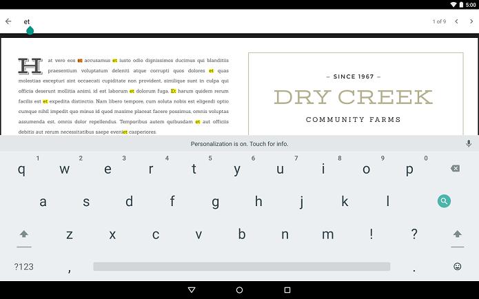 Google PDF Viewer é um app para a leitura dos arquivos no formato PDF (Foto: Divulgação)