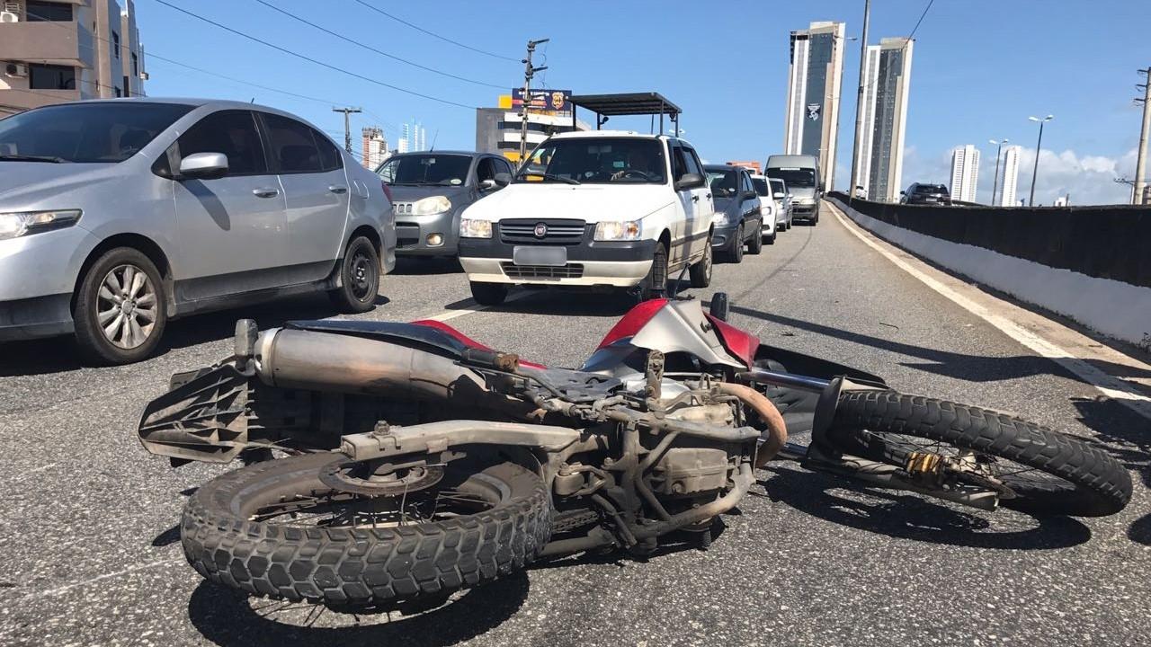 Mais da metade dos acidentes com morte nas BRs da Paraíba foram com motocicletas, diz PRF