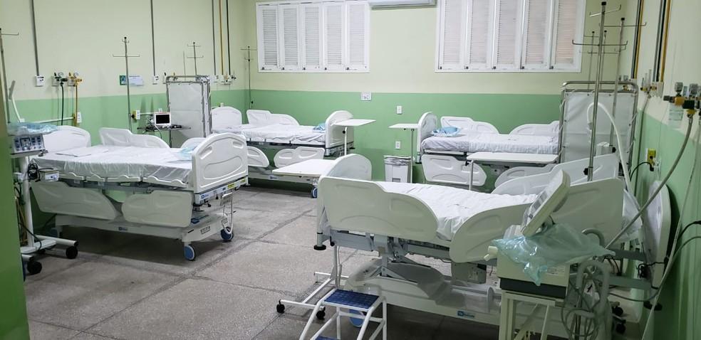 Hospital João Machado ganha 10 novos leitos para o combate ao Covid-19 — Foto: Divulgação