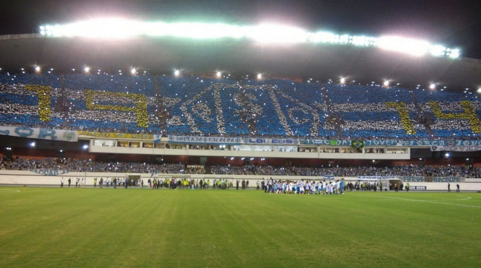 Mosaico, Paysandu x Fluminense — Foto: Fernando Torres/Ascom Paysandu