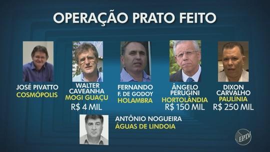 'Prato Feito': Escutas indicam pelo menos R$ 520 mil em propinas para políticos da região de Campinas, diz PF