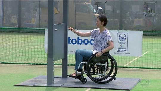 Faltando 1 ano para Jogos Paralímpicos, app ajuda cadeirantes em Tóquio
