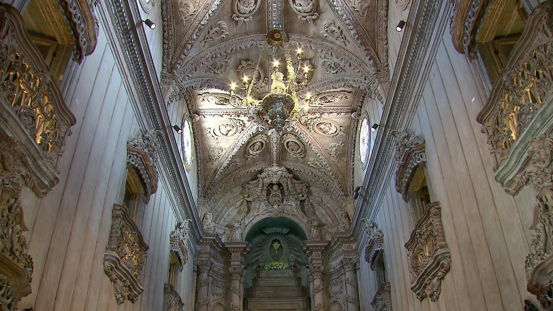 Igreja de de São Pedro dos Clérigos, no Centro do Recife, passa por nova fase de restauro