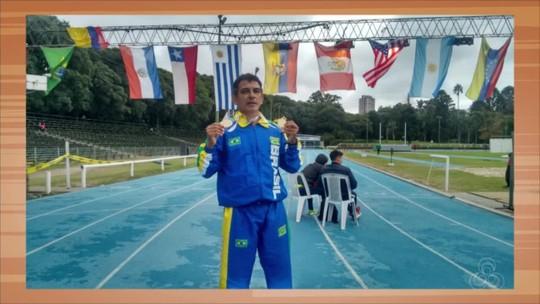 Atleta rondoniense leva ouro em competição de atletismo master