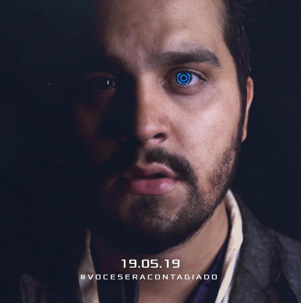Imagem promocional da gravação do DVD de Luan Santana em 19 de maio — Foto: Reprodução / Facebook Luan Santana
