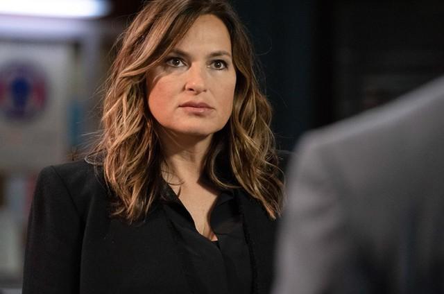 Mariska Hargitay, a Olivia Benson de 'Law & order: SVU' (Foto: Virginia Sherwood/NBC)