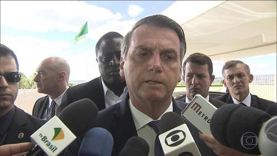 Bolsonaro diz que Levy não tem sido 'leal': 'Eu já estou por aqui com ele'