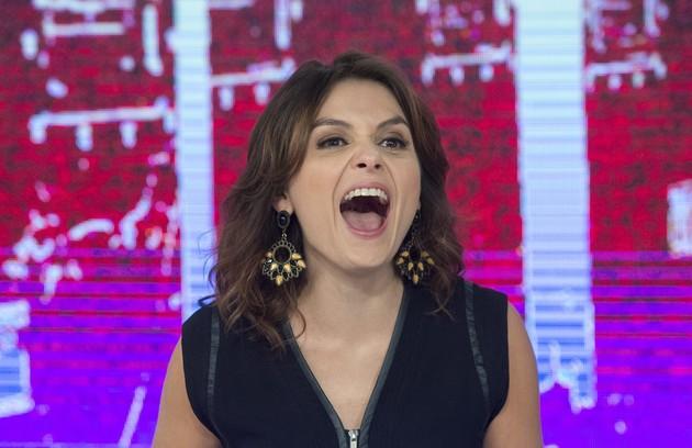 Monica Iozzi esteve à frente do programa em 2015 (Foto: TV Globo/Estevam Avellar)