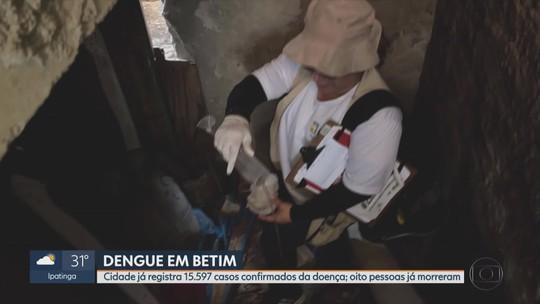 Mais de 15.500 casos de dengue já são confirmados em Betim