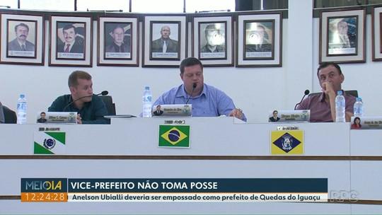 Câmara de Quedas do Iguaçu marca nova sessão de posse do cargo de prefeito para segunda-feira