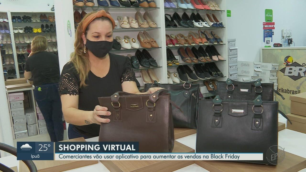 Comerciantes usam apps para aumentar vendas na Black Friday em Ribeirão Preto