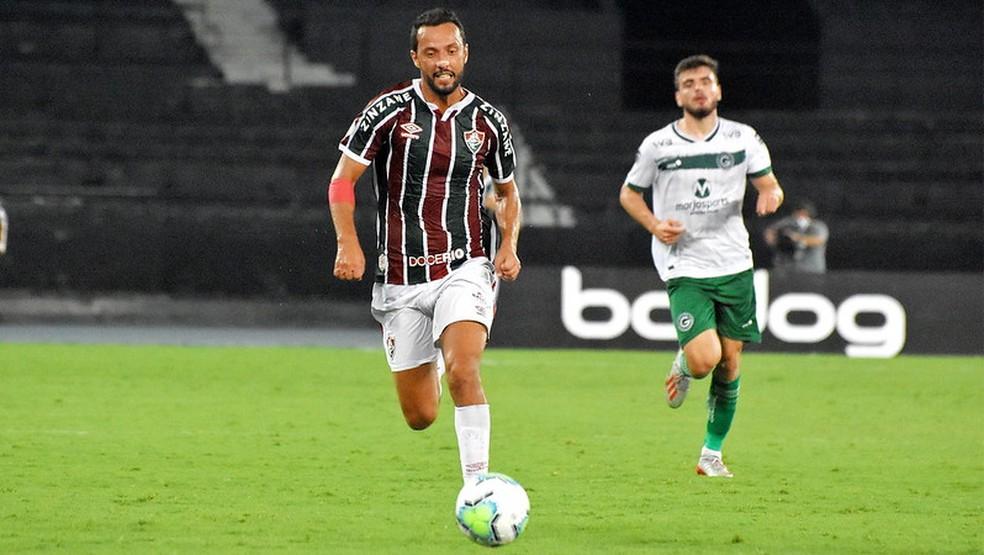 Inspirado, Nenê mostrou que pode tem talento para fazer time render — Foto: Mailson Santana / Fluminense FC