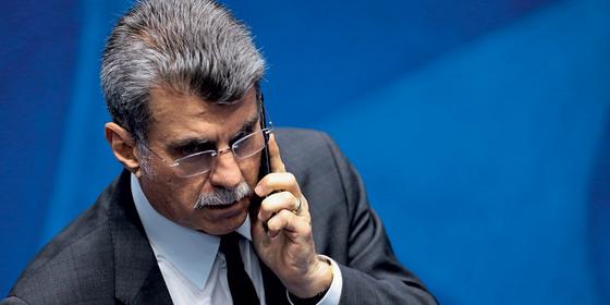 Romero Jucá,senador (Foto:  Jorge William / Agência O Globo)