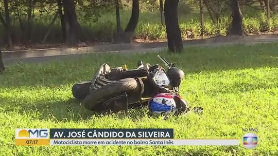 Motociclista morre após bater em árvore no bairro Santa Inês, em BH