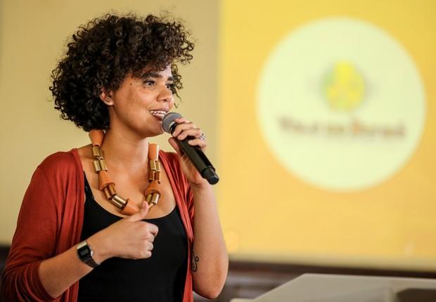 Ítala Herta, empreendedora social, palestrante, produtora cultural e diretora de operações do Vale do Dendê (Foto: Ulisses Dumas/Vale do Dendê)