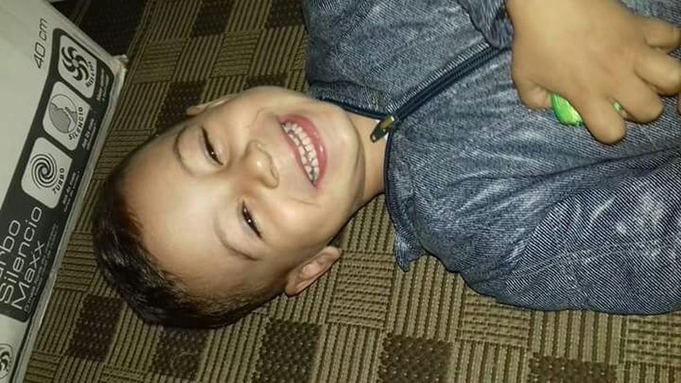 Eduardo tem três anos e foi diagnosticado com autismo (Foto: Maisa Machado / Arquivo Pessoal)