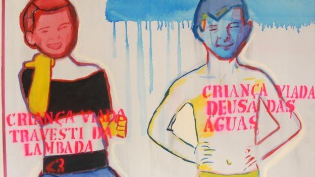 Obra da cearense Bia Leite foi acusada de fazer apologia à pedofilia (Foto: Divulgação)