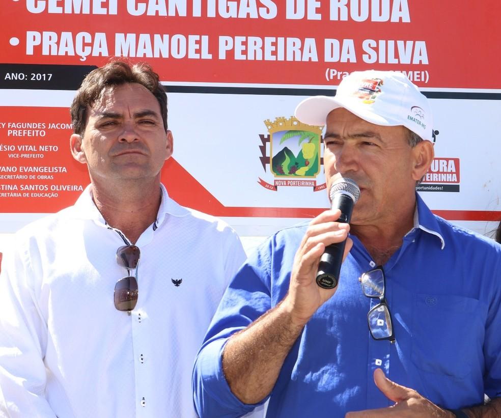 Prefeito e vice de Nova Porteirinha foram cassados  (Foto: Ascom prefeitura)