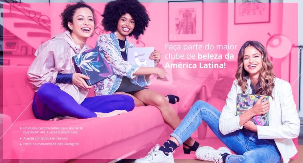 Maior clube de beleza da América Latina, Glambox seleciona cosméticos e produtos de maquiagem para as assinantes — Foto: Reprodução/Glambox