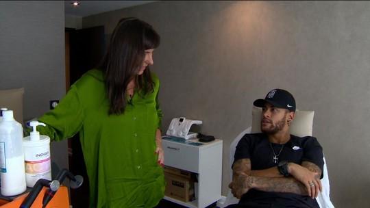 """Neymar revela que nova lesão no pé o abalou: """"Fiquei uns dois dias chorando em casa"""""""