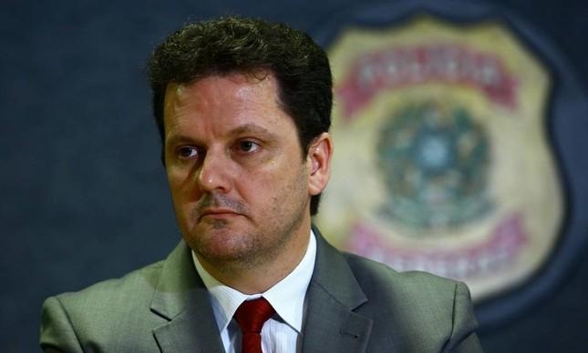 O delegado da Polícia Federal Igor Romário