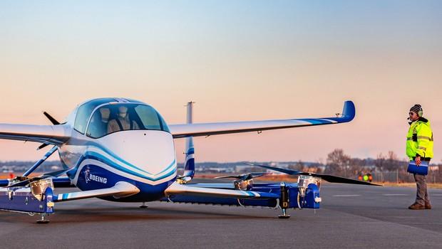 O PAV é a aeronave autônoma da Boeing (Foto: Divulgação/Boeing)