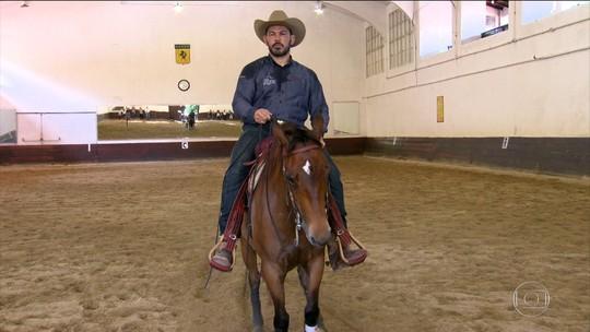 Paixão a galope: conheça a nova terapia do caubói Rodrigo Minotauro