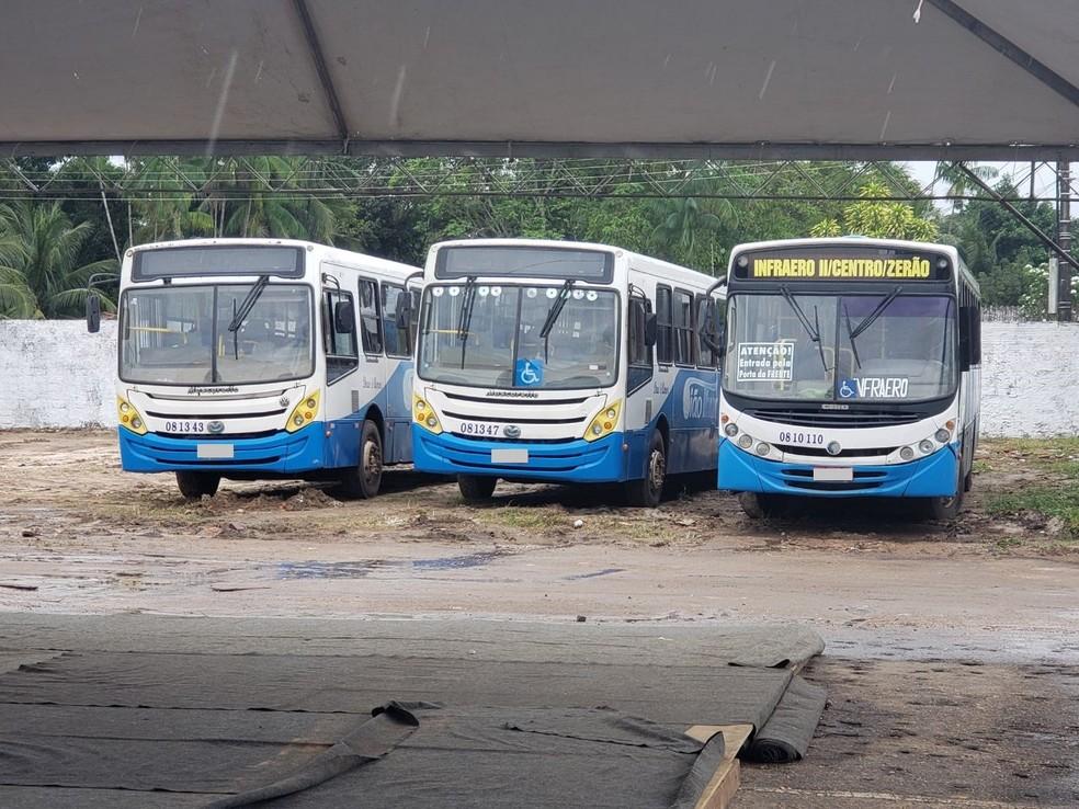 -  Veículos recolhidos pela companhia durante fiscalizações  Foto: Patrícia Leal/CTMac