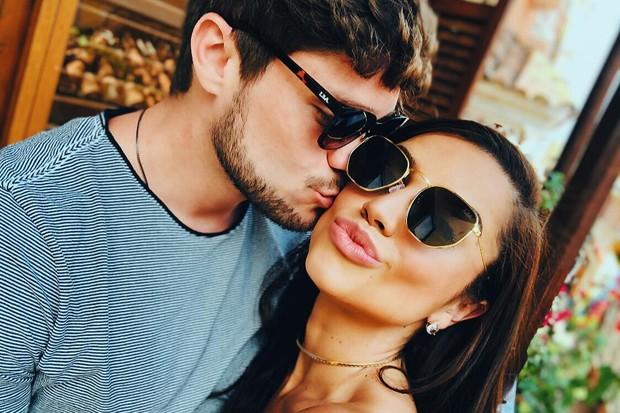 Paula Amorim e Breno Simões (Foto: Reprodução/Instagram)