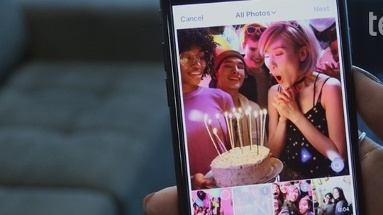 Foto: (Como criar um post com várias fotos no Instagram (Foto: Gabrielle Lancellotti/TechTudo))