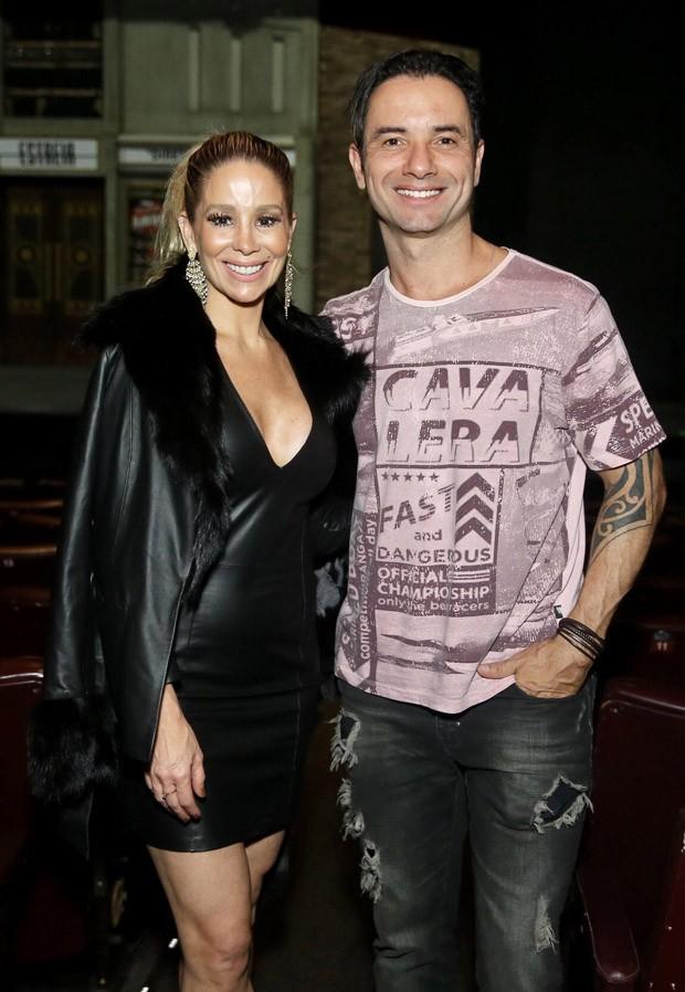 Danielle Winits e Marco Luque (Foto: Manuela Scarpa/Brazil News)