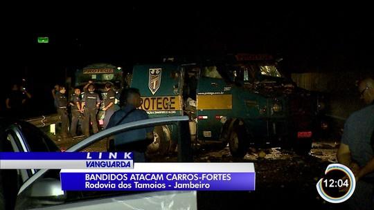 Polícia Civil investiga tentativa de assalto a dois carros-fortes na Tamoios