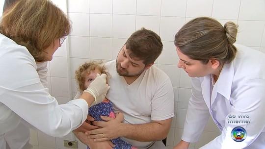 Sábado é marcado por vacinação contra Sarampo e Poliomielite