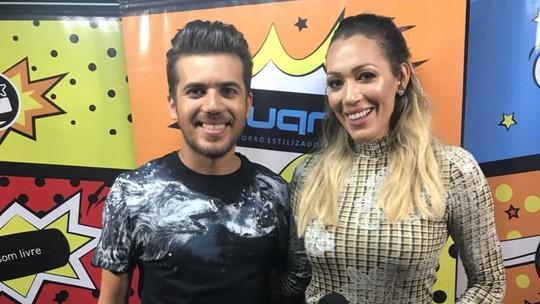 Veja como foi a performance dos cantores Devinho Novaes e Luan Estilizado no #Forrozão2018