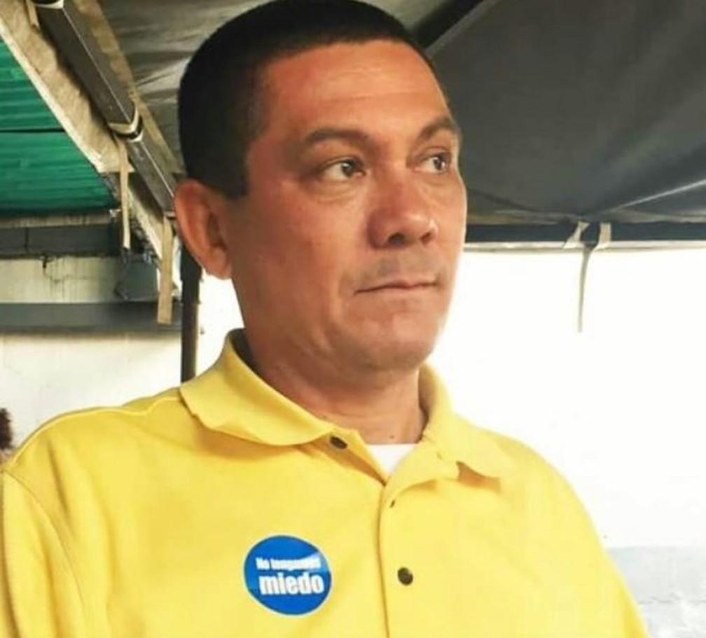 Fernando Albán, vereador que morreu nesta segunda (8) em poder do serviço secreto de Nicolás Maduro — Foto: Reprodução/Twitter/Fernando Albán