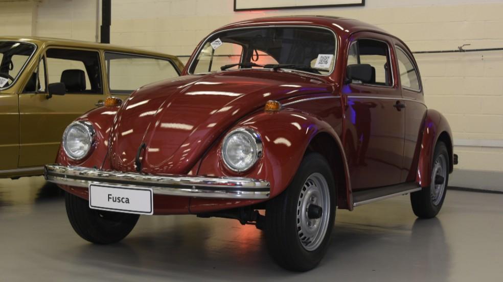 VW Fusca começou a ser produzido no Brasil em 1959 — Foto: Divulgação