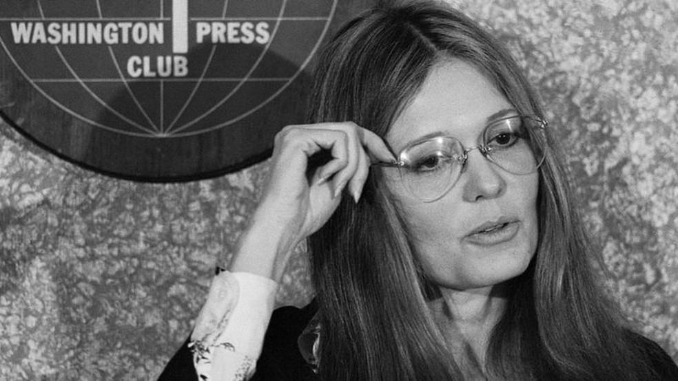 Líderes icônicas do movimento feminista, como Gloria Steinem (foto), e Barbara Ehrenreich defenderam Hite — Foto: Getty Images