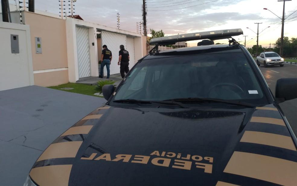 Mandados de prisão preventiva foram cumpridos no início da manhã desta quinta-feira (4) — Foto: Divulgação/Polícia Federal