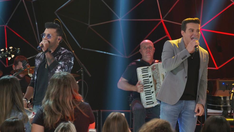 Dupla Marcos & Belutti se apresenta no 'Altas Horas' â�?�? Foto: Divulga�?§�?£o Globo