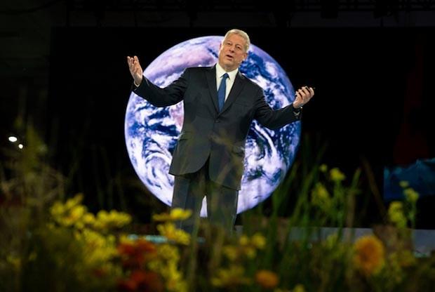 Al Gore, ex-vice-presidente dos EUA, na conferência Dreamforce 2018, da Salesforce (Foto: DIvulgação/Salesforce)