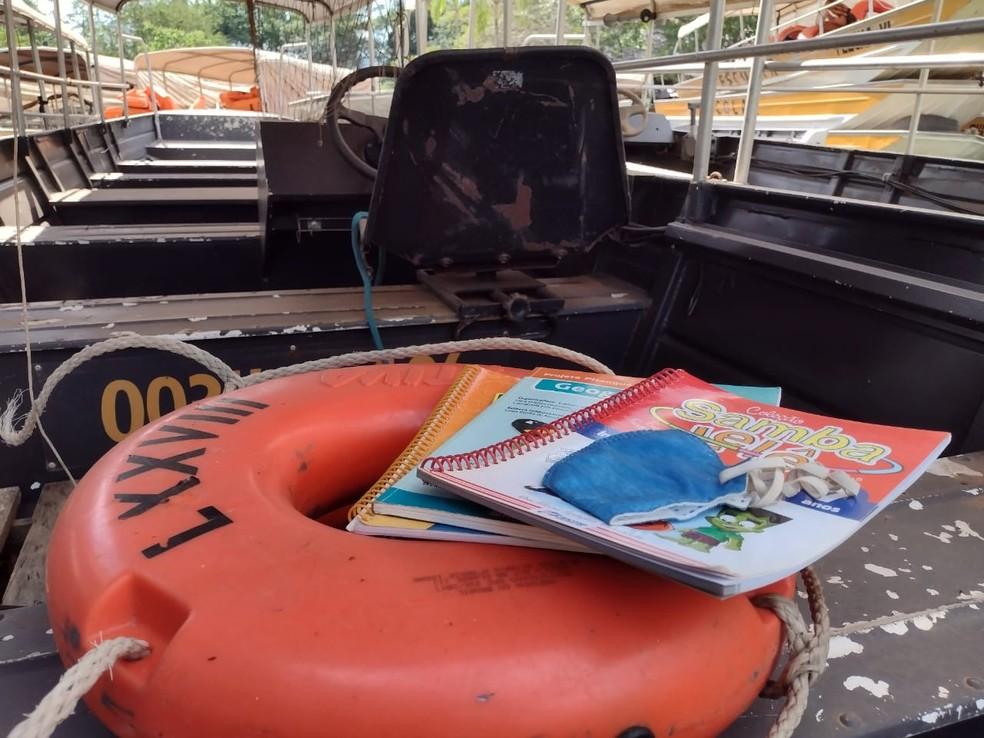Alunos das zonas rurais e ribeirinhas estão há quase 4 anos sem frequentar escola em Porto Velho — Foto: Jaíne Quele Cruz/G1