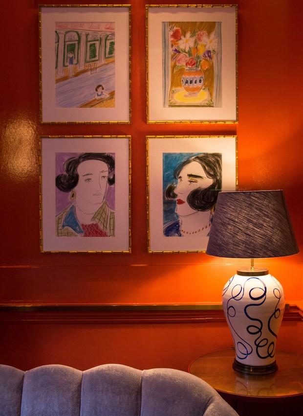 Obras de Luke Edward Hall (Foto: The Coral Room/ Reprodução)